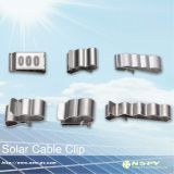 Solar PV cable clip for 2.5-6sqmm solar cable