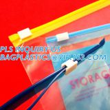 frosted eva swimwear slider zipper bags,Logo printing swimwear bikini slider pvc zip lock bag,waterproof matte PVC slide