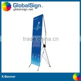 Shanghai GlobalSign cheap and hot selling x-frame banner stand