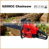 (F0959) new design gasoline 6200cc cheap chainsaw with CE and GS certificate