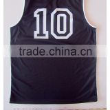 JiangSu Custom Basketball Uniform Color Black and Gray