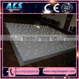 Very popular make led dance floor, starlit dance floor, blackled dance floor for wedding