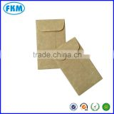 coin/seed/ bussiness card mini envelopes with gummed flap