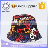 Summer Fashion Cool Custom Made Blank Bandana Cheap Plain Tie Dyed Bucket Hat Wholesale