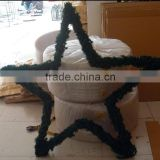 New design shopping mall atrium hanging decorations Christmas hanging stars, christmas hangings,