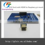 5 inch Raspberry Pi TFT Resistive Touch Screen HDMI Interface LCD Display