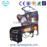 Hot street coin operated basketball mini arcade game