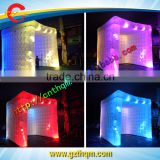 cheap Inflatable LED Cube Tent for party decoration or outdoor advertising