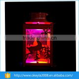 Wholesale Christmas Ornament Suppliers High Quality Decorative Metal Candle Holder Lantern