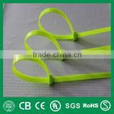 UV black nylon zip cable tie