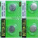 Factory price AG10 button cell batteries alkaline suitable to mini toys watchs led lights
