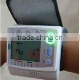 LCD Memory Electric Blood Pressure Meter Wholesale Wrist Watch Blood Pressure Monitor