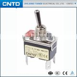 CNTD Hot Double Pole On OFF Table Lamp Mini Waterproof 4-Way Toggle Switch