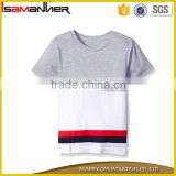 Bulk good quality short sleeve o-neck boys cotton shirt made in china                                                                                                         Supplier's Choice