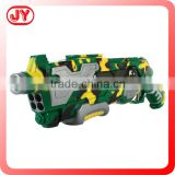 Plastic bullet toy gun electric airsoft gun with light and sound