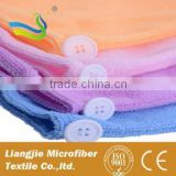 [LJ towel] 40*40 square quick-dry duplex Bambo Fiber Towel solid textile washcloth face body hair sided