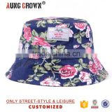 custom print bucket hat/floral printing bucket hat/wholesale bucket hats                                                                         Quality Choice