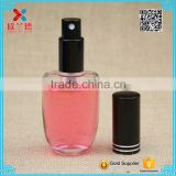 50ml High quality ellipse shaped transparent twist off sprayer glass perfume bottle                                                                                                         Supplier's Choice