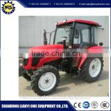 Mini Tractors with Front End Loader Small Farm Equipment 4WD 55HP LY554 4*4 Mini Tractor