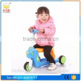 2016 New Design Kick Foot Scooters for kids/Three wheels cheap ride on car toys of mini mirco 2 IN 1 children scooter