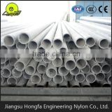 Straight tube reinforced MC nylon pipe