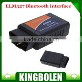 2014 Hot Sale ELM327 Bluetooth OBDII V1.5 CAN-BUS Diagnostic Scanner Tester OBD2 2 ELM 327 Car Scan Tool Wholesale Price