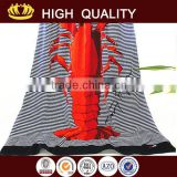 Hot selling sublimation beach towel logo with high quality                                                                         Quality Choice