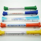 Bone shape banner pens/bone shape flag pens/animal shapes pens