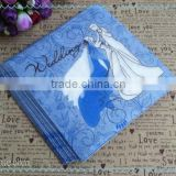 printed beautiful napkin soft virgin wood pulp paper 2ply new design