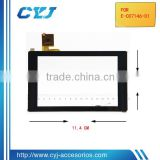 excellent quality transparent glass touch screen for tablet pc,Touch screen NO.E-C07146-01