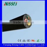 China Manufacturing Product 4 Core Cable Rubber Cable Bushing Bare Tin-plated Copper Wire