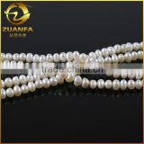 loose wholesale aaa white baroque freshwater pearl beads