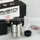 velocity V2 rda/rba in stock 2016 best ecig high quality velocity V2 rda for sale stock lot
