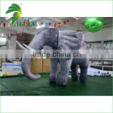 Large Size Air Balloon Inflatable Cartoon Toys / Inflatable Elephant Helium for Parade