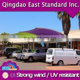 professional uv stabilized sun shade sail awning with fixing accessories