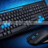 factory price 2.4ghz wireless mouse and keyboard combo set computer tv ultra-thin wireless mice & keyboard set