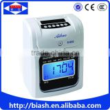electronic card punch attendance machine price/office employee card punch attendance machine