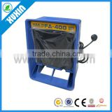 Hakko FA-400 smoke absorber, esd soldering smoke filter, portable smoke purifier/fume extractor fan