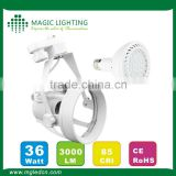 PAR30 36W with remote control recessed Led emergency ceiling Light
