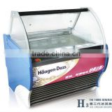 ice cream display freezer/gelato cases (CE Approved)