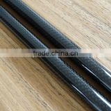 High quality cheap price conical telescopic professional 3k carbon fiber tube 50mm factory