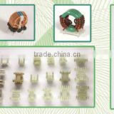 Sell Kinds of bobbin,ferrite cores,EMI cores,Iron powder inductors