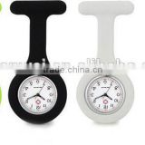 hot sale and fashion new silicone nurse watch with assorted colors fob price