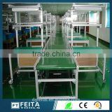 New Condition Aluminum Material Production Assembly Line Working Tables with Antistatic Conveyor Belt