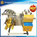 2 in 1 steel coil decoiler straightener straightening and automatic decoiling machine for power press