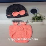 Newborn photography props, crochet handmade animal style baby suits
