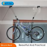 Bike Bicycle Lift Ceiling Mounted Hoist Storage Garage Hanger Pulley Rack