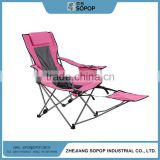 Hot Selling 2016 steel tube metal deck chair canvas