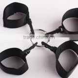 New handcuff & ankle cuffs cross,tape handcuff ankle games.