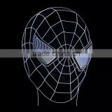 3D Optical Illusion Spider Man Night Lamp Night Light 10 Colorful LEDs Ultra-thin Acrylic Light Panel AA Battery or DC 5V